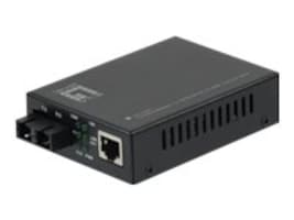 CP Technologies 10 100 1000BASE-T to 1000BASE-SX MMF SC Converter, 550m, GVT-2001, 17065960, Network Transceivers