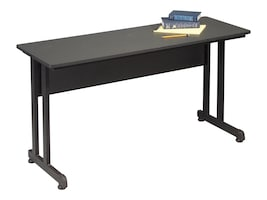 Balt 55 x 19.75 PJ Training Table and Workstation, Black, 89824, 35717301, Furniture - Miscellaneous