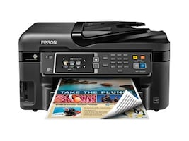 Epson WorkForce WF-3620 All-In-One Printer, C11CD19201, 17456670, MultiFunction - Ink-Jet