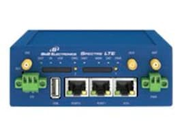 Quatech LTE Cell Router, 2 Ethernet, 1 I O, USB, 2 SI, RTLTE-310-VZ, 17877319, Network Routers