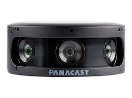 Altia PanaCast 2 VV Enabled Camera with Intelligent Zoom and Wall Mount, IZVV-PC-B6-4K-WM-B, 35966585, Cameras - Security