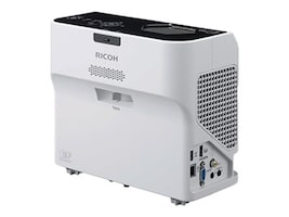 Ricoh PJ WX4152N Ultra Short Throw Projector, 3500 Lumens, White, 432103, 34306358, Projectors