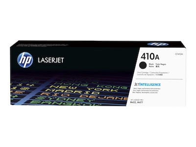 HP 410A (CF410A) Black Original LaserJet Toner Cartridge w  JetIntelligence, CF410A, 30717205, Toner and Imaging Components