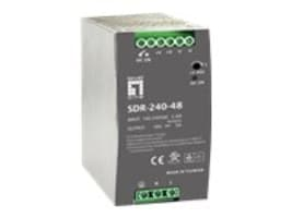 CP Technologies LevelOne 240W 48VDC Power Supply for IES-0620 PoE Ready, POW-4850, 31090230, Power Supply Units (internal)