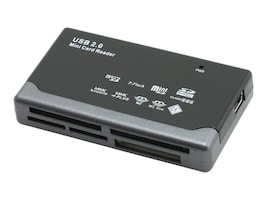 Gear Head USB 2.0 23-In-One Card Reader, CR4200, 31189168, PC Card/Flash Memory Readers