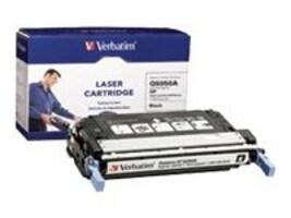 Verbatim Verbatim Q5950A Black Toner Cartridge for HP Color LaserJet 4700 Series, 95480, 10020620, Toner and Imaging Components