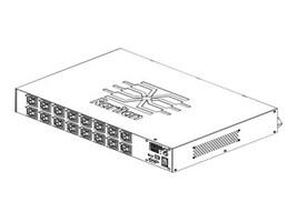 Raritan PDU 5.0kVA 208VAC 1-phase 24A 2U (16) C13 L6-30P, PX2-5386R, 15901055, Power Distribution Units