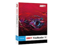ABBYY FineReader 14.0 Corporate Full Version DVD Box, FRCFW14B, 33641331, Software - OCR & Scanner