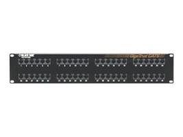 Black Box 48-Port 2U GigaTrue CAT6 Patch Panel, JPM612A-R7, 15677452, Patch Panels