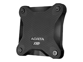 A-Data 256GB ASD600 External Solid State Drive - Black, ASD600-256GU31-CBK, 36352614, Solid State Drives - External