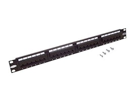 Belkin Angled 24-Port Category 5 Patch Panel, F4P338-24AB5-AN, 118235, Patch Panels