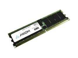 Axiom 4GB PC2-5300 240-pin DDR2 SDRAM RDIMM Kit for Select Dell, HP, IBM, Sun Servers, AX16491054/2, 11069388, Memory