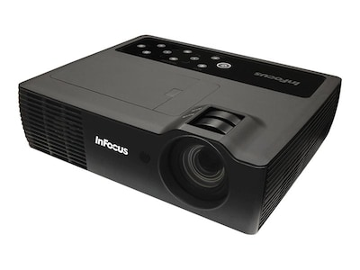 InFocus IN1116 WXGA 3D DLP Projector, 2400 Lumens, Black, IN1116, 28347858, Projectors