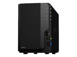 Synology 2-Bay DiskStation DS218 NAS - Diskless, DS218, 35152661, Network Attached Storage