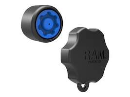 Ram Mounts Mixed Combination Pin-Lock Security Knob and Key Knob for 1 Diameter B Size Arms, RAP-S-KNOB3U, 31024531, Mounting Hardware - Miscellaneous