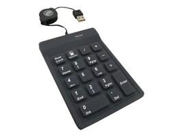 Adesso 18-Key Waterproof Keypad, AKP-218, 10950819, Keyboards & Keypads