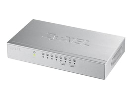 Zyxel GS108BV3 8-Port 10 100 1000 DT Metal Switch, GS108BV3, 32342611, Network Switches