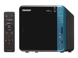 Qnap TS-453B-8G-US Main Image from Right-angle