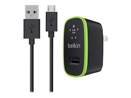 Belkin F8M667TT04-BLK Main Image from Right-angle