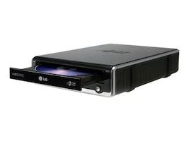 LG DVD-RW DL USB External Drive - Black White w  Software (Retail), GE24NU40, 15546559, DVD Drives - External