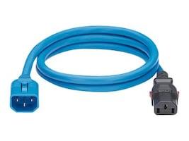 Panduit Locking Power Cord, IEC C14-to-IEC C13, 4ft, LPCA08, 36356658, Power Cords