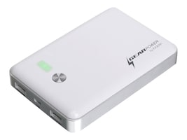 IOGEAR PORTABLE BATTERY FOR SMARTPHONES, TABLET, GMP12K, 18121353, Batteries - Other