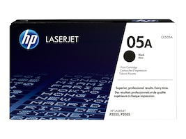 HP 05A (CE505D) 2-pack Black Original LaserJet Toner Cartridges, CE505D, 12829705, Toner and Imaging Components - OEM