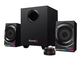 Creative Labs SBX Kratos S5 U-X Speaker System - Black, 51MF0470AA001, 34193066, Speakers - PC