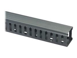Black Box Slotted-Duct Raceway, 4h x 4w x 66, Black, RMT403A-R2, 11246330, Rack Cable Management
