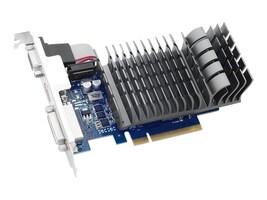 Asus NVIDIA GeForce GT 710 PCIe 2.0 Graphics Card, 2GB DDR3, 710-2-SL-CSM, 31400314, Graphics/Video Accelerators