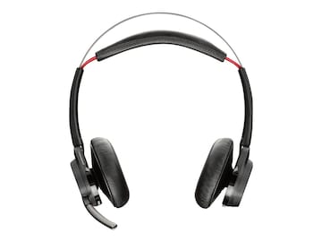 Plantronics Voyager Focus UC B825 Wireless Binaural Headset, 202652-01, 24400973, Headsets (w/ microphone)