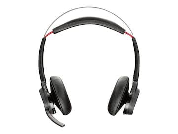 Plantronics Voyager Focus UC B825 Wireless Binaural Headset, 202652-01, 24400973, Headsets (w/ microphone)