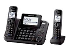 Panasonic Link2Cell 2-Line Cordless Phone - 2 Handsets, KX-TG9542B, 31083582, Telephones - Consumer