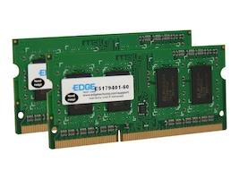 Edge 8GB PC3-10600 204-pin DDR3 SDRAM SODIMM Kit, PE22547602, 18381761, Memory
