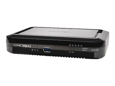SonicWALL SOHO 250 Firewall, 02-SSC-0938, 36718196, Network Firewall/VPN - Hardware