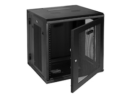 CyberPower Carbon 12U Wall Mount Enclosure, Perforated Front Rear Doors, CR12U51001, 33247683, Racks & Cabinets