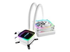 Enermax AquaFusion ARGB 120mm CFAN AIO CPU Cooler, ELC-AQF120-SQA-W, 37977384, Cooling Systems/Fans