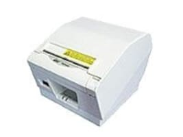 Star Micronics TSP847IID Thermal Friction Parallel 2-Color Printer - Gray w  Cutter Tear Bar & Power Supply, 39443800, 11644426, Printers - POS Receipt