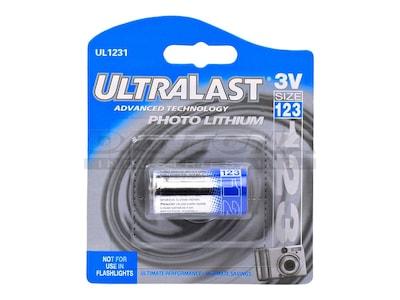 Denaq CR123 Lithium Photo Battery, UL1231, 33247641, Batteries - Camera