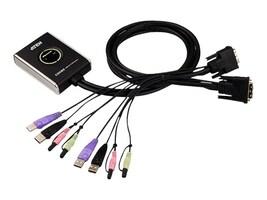 Aten 2-Port USB 2.0 DVI KVM Switch, CS682, 10909402, KVM Switches