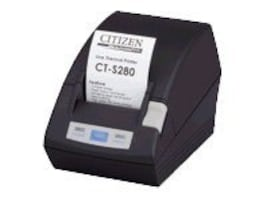 Citizen CBM CT-S280 Receipt Printer - Two-color - Thermal - 203 dpi - Serial - Bla, CT-S280RSU-BK, 6685320, Printers - POS Receipt