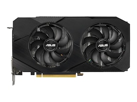 Asus DUAL-GTX1660TI-O6G-EVO Main Image from Front