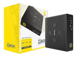 Zotac ZBox SFF Core i5-9300H 2xSO-DIMMs 1x2.5 M.2 SSD bay RTX2060, ZBOX-EN52060V-U, 37333802, Desktops