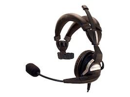 LXE Headset Single-Ear Dual-Padded Over-the-Head Headband, RH750, 16095471, Headsets (w/ microphone)