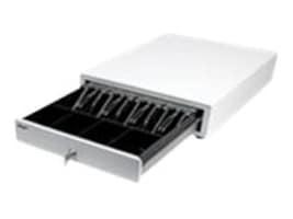 Star Micronics Printer Driven Cash Drawer 13w x 17d 4-Bill 4-Coin DK Ready, White, 37964180, 17828277, Cash Drawers