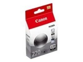 Canon Black PGI-220 Ink Tank, 2945B001, 9066461, Ink Cartridges & Ink Refill Kits
