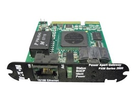 Eaton COM EXP CARD 100FX 10 100T RS-485 RS-232, PXMCE-B, 35922128, Network Adapters & NICs