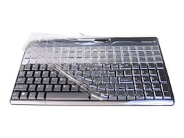 Cherry Plastic Keyboard Cover for All ACCSG86-61401 Models, KBCV-61401W, 7513589, Protective & Dust Covers