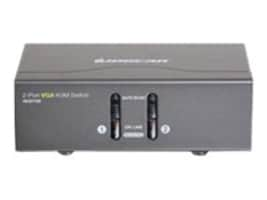 IOGEAR 2-Port VGA KVM Switch, PS 2 and USB, GCS1722, 16579272, KVM Switches