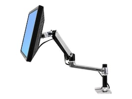 Ergotron LX Desk Mount LCD Arm, 45-241-026, 10955679, Stands & Mounts - AV